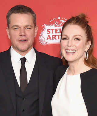 Matt Damon Says His Sex Scene with Julianne Moore Gave Him the Weirdest Injury
