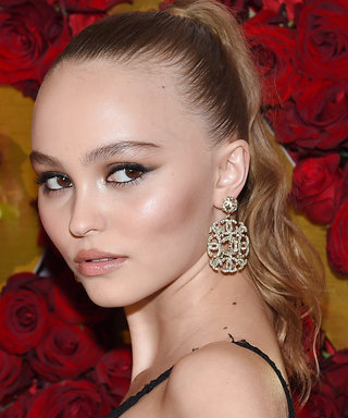 Daily Beauty Buzz: Lily-Rose Depp's High Ponytail