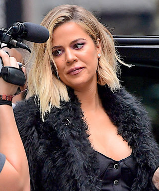 Pregnant Khloé Kardashian Takes N.Y.C. in a Curve-Hugging Top and Skinny Jeans