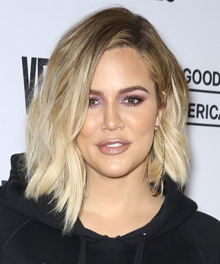 Pregnant Khloé Kardashian Wore a Sweatshirt Without Pants, Because Why Not?