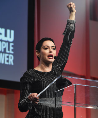 Rose McGowan Delivers Empowering Speech Following Harvey Weinstein Accusations