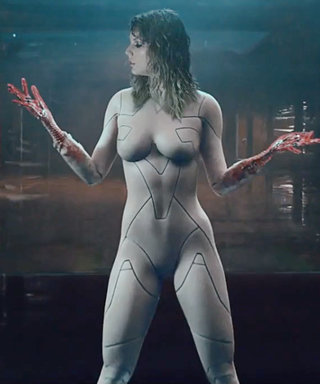 """Taylor Swift Reveals the Trick to Her """"Naked Cyborg"""" Look from """"Ready for It"""""""