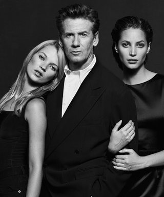 Calvin Klein Reveals He Only Worked With Kate Moss Because This Model Was Busy