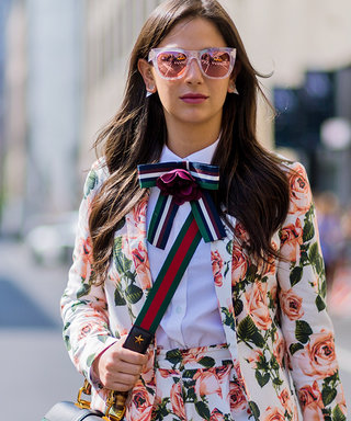 How To Wear Florals in Fall