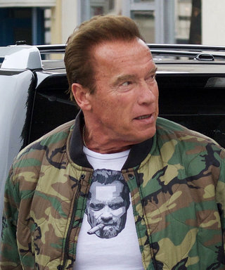 Arnold Schwarzenegger Is Well Aware of How Cool He Is—and He Has the Tee to Prove It