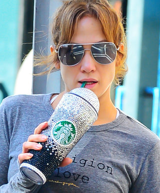Where to Buy a Swarovski-Covered Starbucks Cup Like Jennifer Lopez's