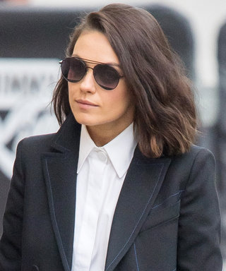 Mila Kunis Wore a Red-Hot Pair of $1,350 Leather Boots Like a Boss
