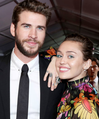 Miley and Liam Return to the Place They Met Wearing Bands on That Finger