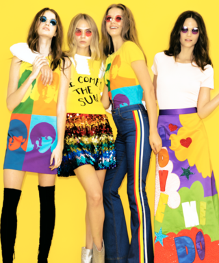 This Alice + Olivia x The Beatles Collection Is Bringing Back the Best Trends of the '60s