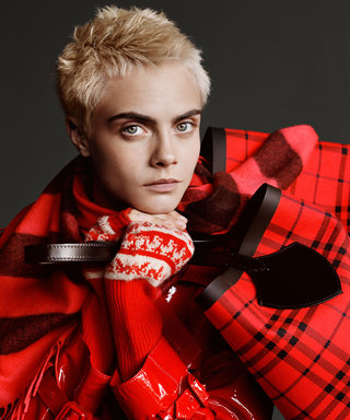 Christmas Is Here and Cara Delevingne's Burberry Campaign Will Make You Believe It