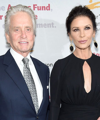 Catherine Zeta-Jones and Michael Douglas Make a Rare Red Carpet Appearance for Date Night