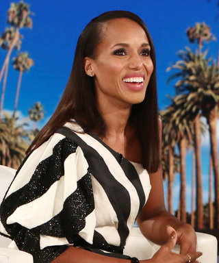 "Kerry Washington Says This ""Incriminating"" Video Is the Reason She Can't Run for Office"