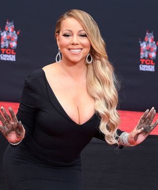 Mariah Carey Drips in Diamonds at Her Handprint Ceremony