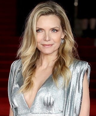 Michelle Pfeiffer Deserves All the Red Carpet Attention in This Glittering Silver Prada Dress
