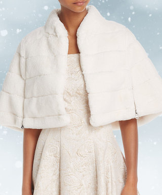 15 Chic Coats to Keep You Warm at Your Winter Wedding