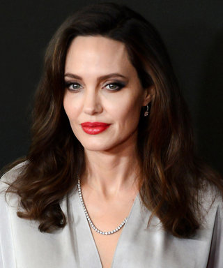 Angelina Jolie Was a Silver Siren at the Hollywood Film Awards