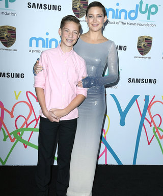 Kate Hudson Brings Her Son Ryder to Goldie Hawn's Charity Event