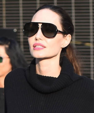 Angelina Jolie Wore the Coziest Looking Sweater Dress, and Now We Want 5