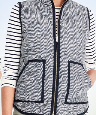 Here's the Exclusive J.Crew Factory Code You Need to Save Big on Puffer Vests