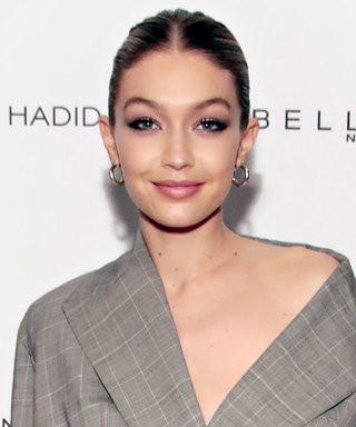 Gigi Hadid + Blazer - Pants = a Certified Look