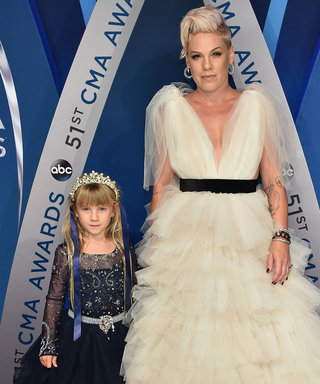 Pink and Her Daughter Willow Look Like Princesses at the CMAs