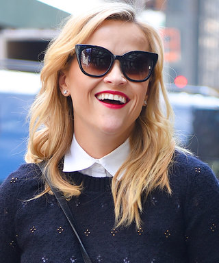 Reese Witherspoon Announces November Book Club Read in Librarian-Chic Look