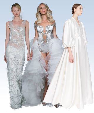 We Asked Real Men and Women to Comment on Next Year's Wedding Dress Trends