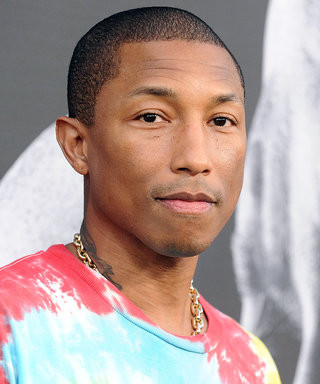 Pharrell Just Dyed His Hair Pumpkin Spice Orange