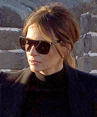 First Lady Melania Trump Scales the Great Wall of China in Flats