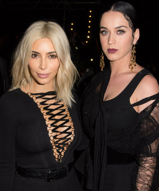 Kim Kardashian Hangs Out with Katy Perry Backstage at Her L.A. Concert
