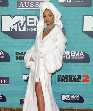Rita Ora Wears a Bathrobe on the Red Carpet, and It's Honestly Incredible