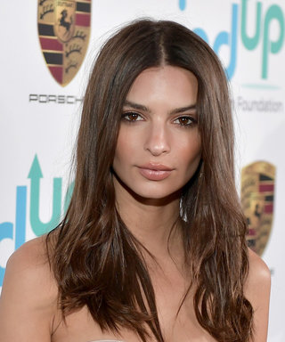 Emily Ratajkowski's Braless Suit Was Held Together by Just One Button