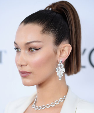 Daily Beauty Buzz: Bella Hadid's Negative Space Cat Eye