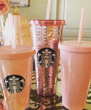 All We Want for Christmas Are These New Starbucks Rose Gold Tumblers