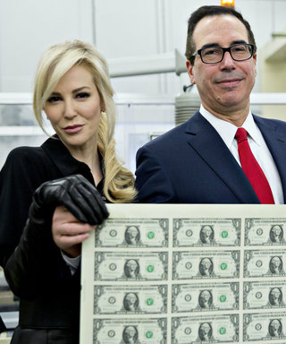 Steven Mnuchin and Louise Linton Pose with Sheet of Money and the Internet Loses It