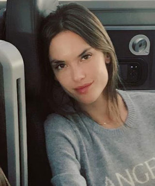 Alessandra Ambrosio's Daughter Tags Along as the Victoria's Secret Models Arrive in Shanghai