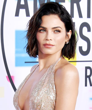 Jenna Dewan Tatum Redefines the Naked Dress in a Plunging Sheer Gown at the AMAs