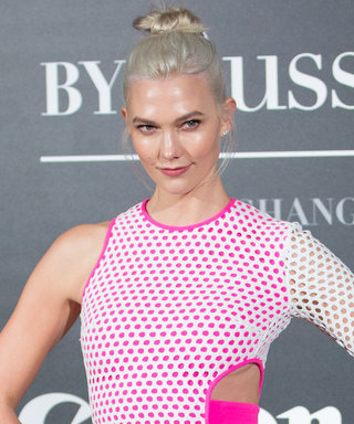Karlie Kloss Rocks a Daring Cut-Out Dress Ahead of the Victoria's Secret Fashion Show