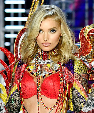Elsa Hosk Hit the Victoria's Secret Fashion Show Runway Wearing 275,000 Swarovski Crystals
