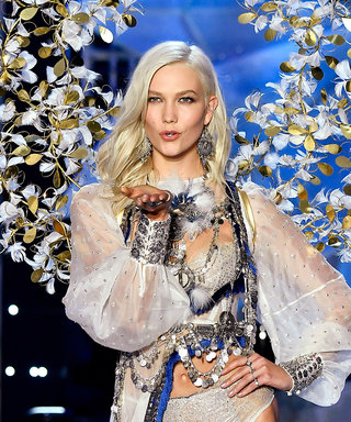 Karlie Kloss Returns to the Victoria's Secret Runway in the Sexiest Way