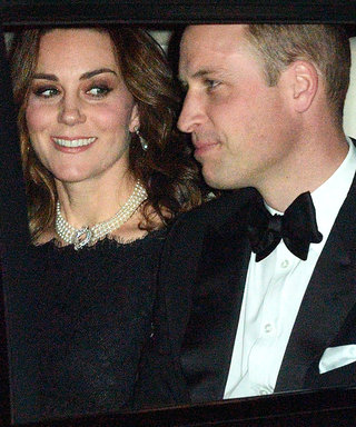 Pregnant Kate Middleton and Prince William Make an Elegant Pair at the Queen's Anniversary Party