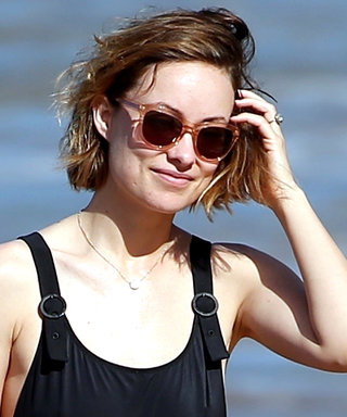 Olivia Wilde's Black One-Pieces Has the Most Unexpected Details