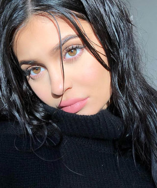 Pregnant Kylie Jenner Poses in Oversize Sweater, Hints at the Sex of Her Baby