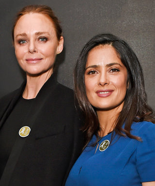 Salma Hayek and Stella McCartney Call for an End to Violence Against Women