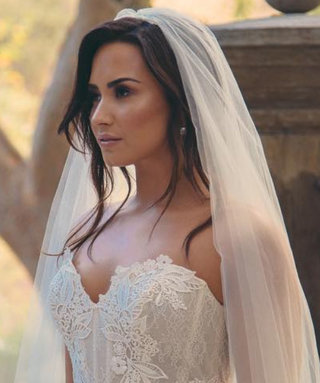 Demi Lovato Wore the Prettiest Wedding Dress, and We're Swooning