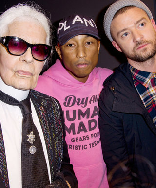 Justin Timberlake Snagged a Coveted Pair of Trainers by Chanel and Pharrell Williams