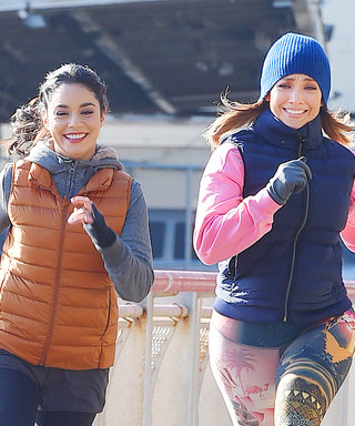 Jennifer Lopez and Vanessa Hudgens Are the Chicest Running Buddies