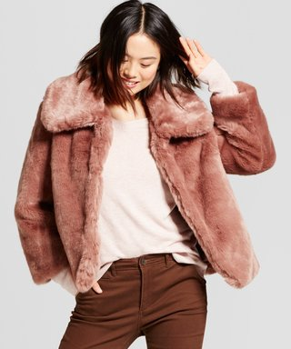 There Are $40 Faux Fur Coats at Target, and They Actually Look Expensive