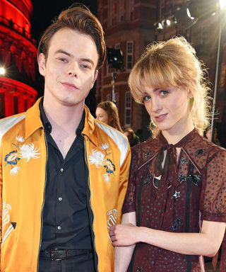 This Stranger Things Couple Made a Rare Red Carpet Appearance Together