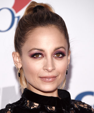 Daily Beauty Buzz: Nicole Richie's Purple Eyeshadow